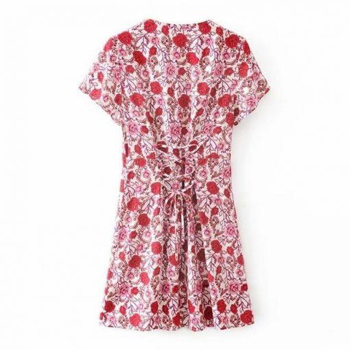 Bohème romantisches Kleid